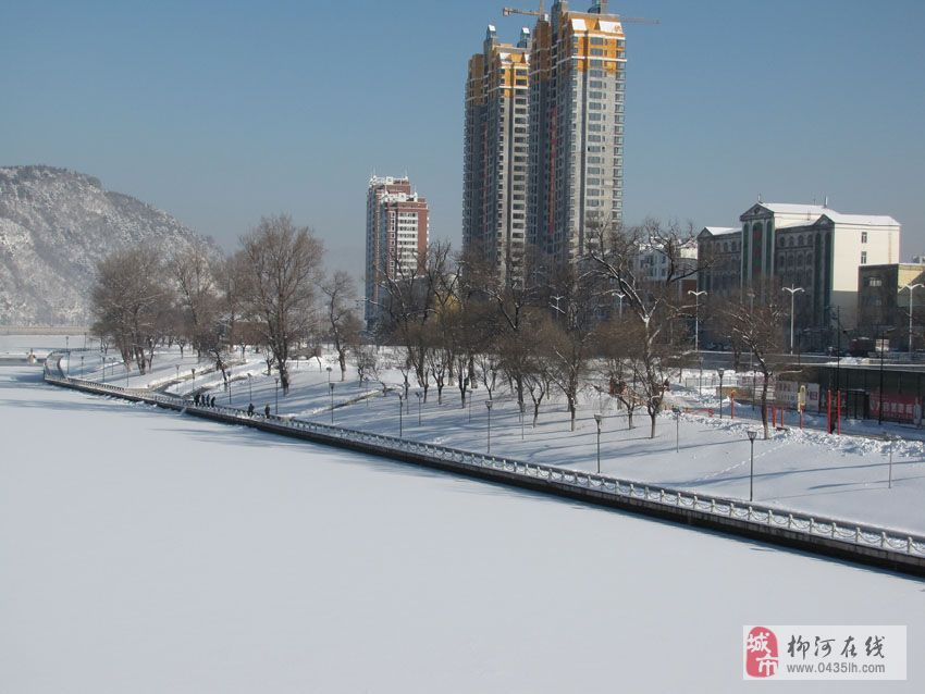 通化玉皇山雪景