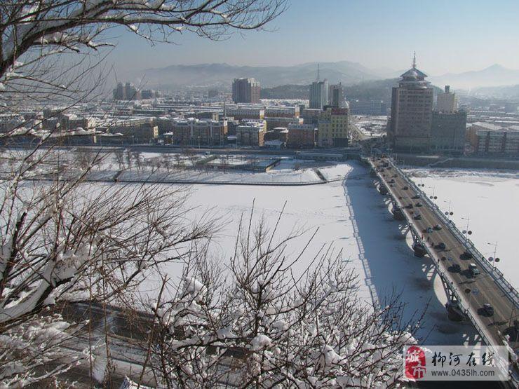 通化 玉皇山 雪景