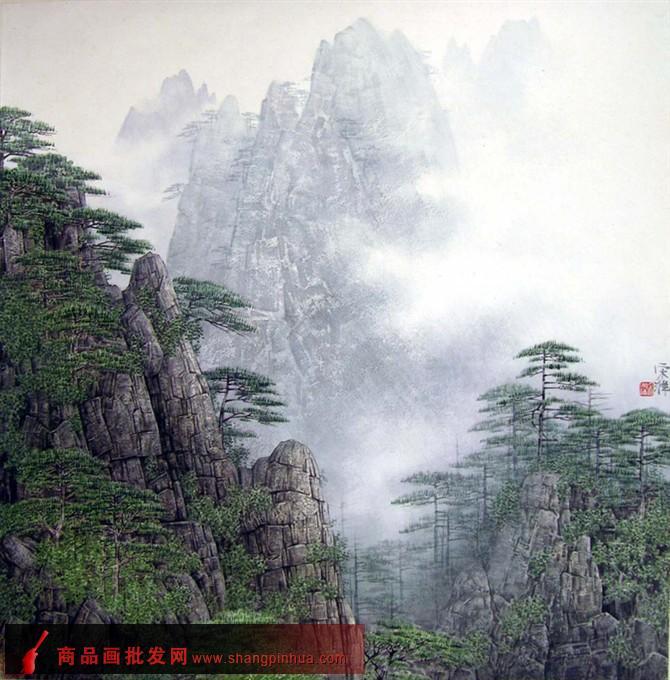 宋涤山水画