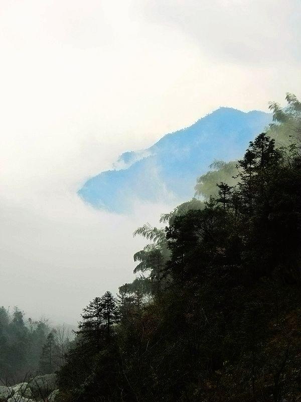 湖南雪峰山徒步