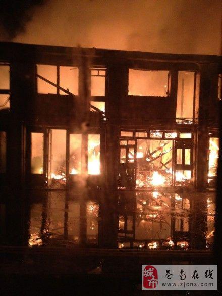 炎亭发生严重火灾,十多间民房被烧