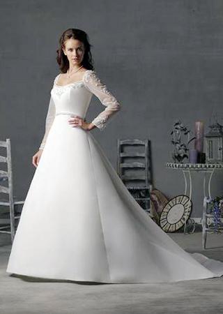 �典�嘏��L袖款冬季新娘婚�