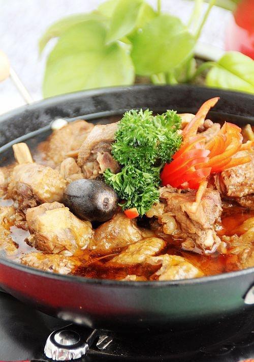 新年第一锅――飘香鸡肉火锅
