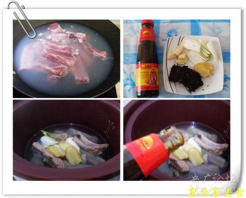 冬日里减肥一族可以放心吃的大肉菜——茶香排骨