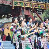 【最新消息】17日中国榕江萨玛节开幕式预演!