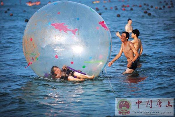 自然风光 尽享乐趣――唐山海滨浴场