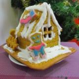 我第一次和小三儿做的圣诞饼屋