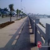 美丽的沿江东堤路