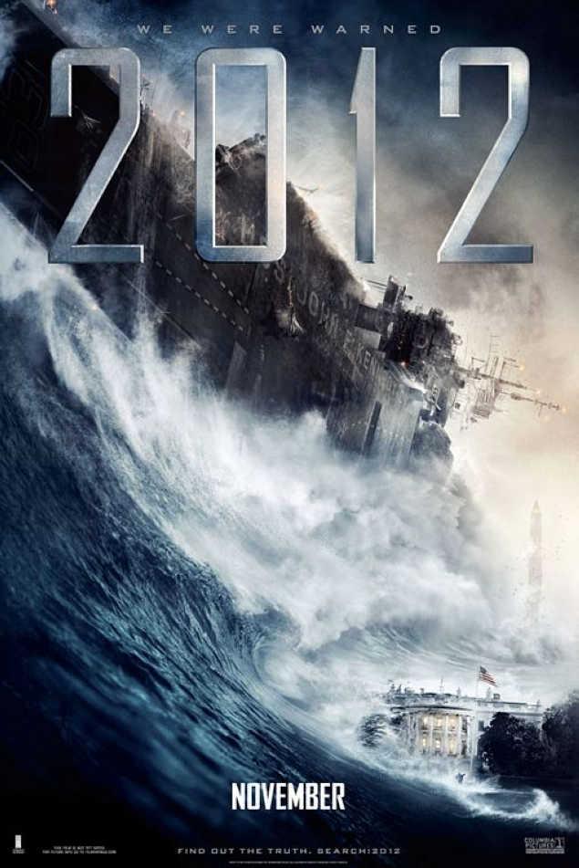 2012世界末日电影资料 2012世界末日电影海报(图片)