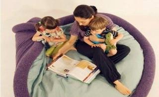 全功能的懒人家具,可以是沙发、床、坐垫