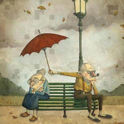 就算生气,我依旧会为你撑伞挡雨!