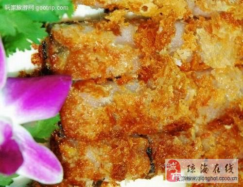 琼海叶子编织小吃图片