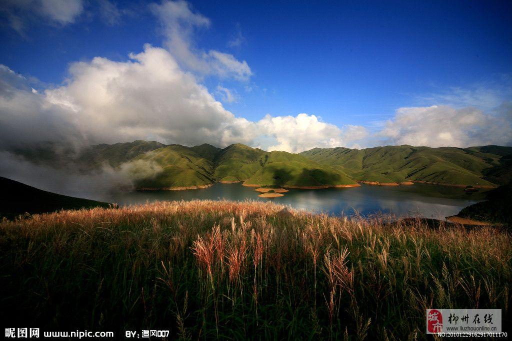 从化天湖风景区徒步