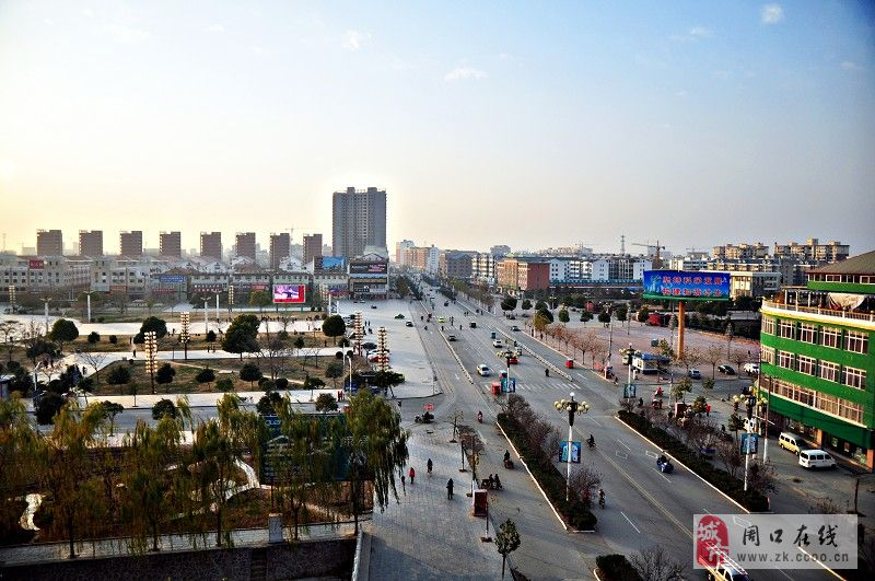 【郸城李豪】郸城县新城区风景图;; 大美郸城~~; 家乡·郸城_郸城吧
