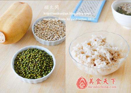 藕丝薏仁绿豆汤-清热消暑
