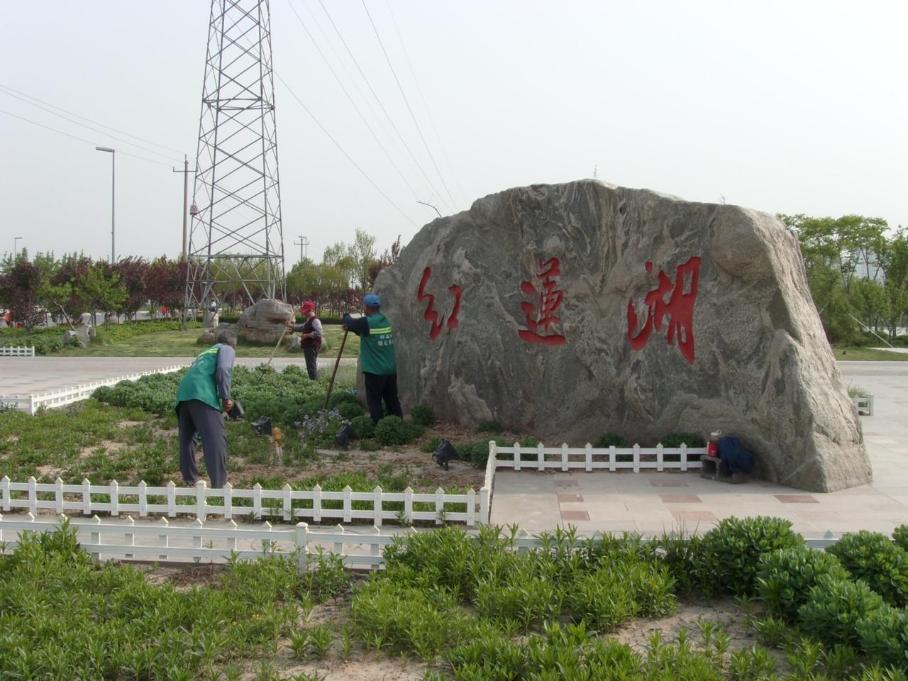 桓台红莲湖风景区路线