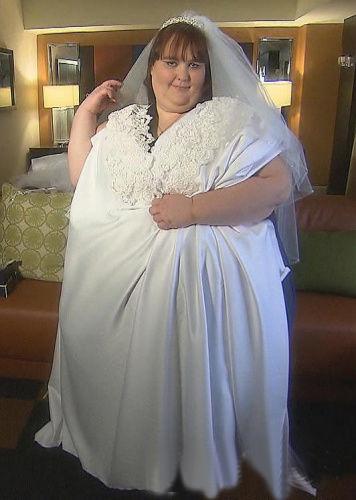 【婚嫁趣事】最胖新娘超大婚纱曝光 立志增重至730公斤