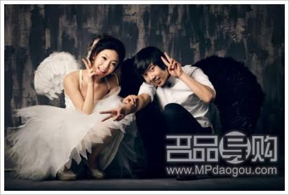 [转贴]90后演绎天使主题个性婚纱照