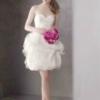 [贴图]适合娇小美眉的短款婚纱 洋气俏丽时尚大方