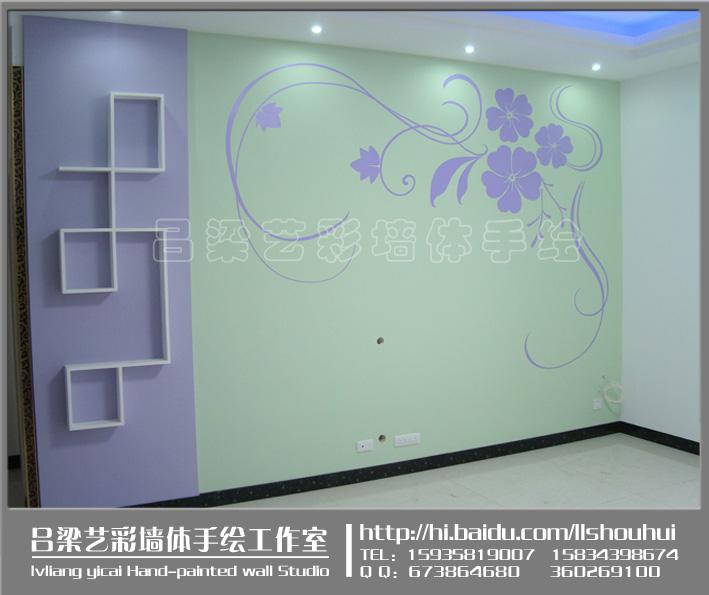 3,公共场所装饰性的大型墙体画,幼儿园墙体装饰,建筑物外墙,厂房