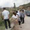 陡坡乡党政领导视察指导环境卫生工作