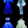 [贴图]神奇夜光婚纱 神秘魅惑元素