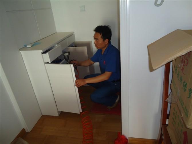[原创]室内装修污染治理现场