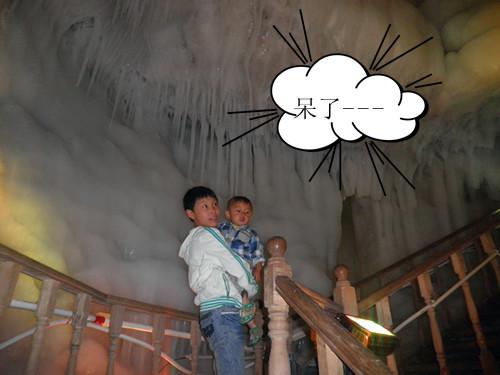 宁武万年冰洞游览图片汇展