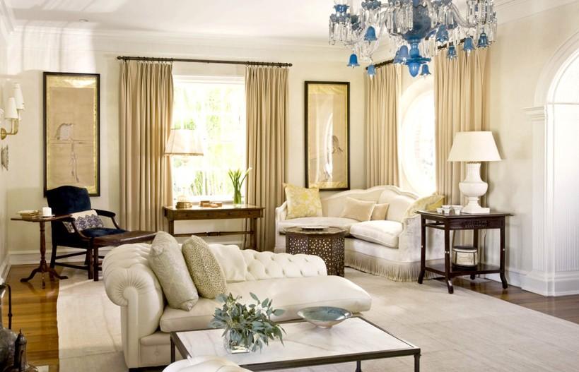 窗帘的材质选择和色彩搭配