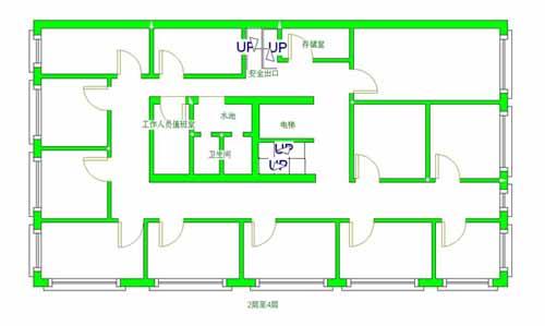 主题: [分享]制作旅店宾馆结构平面图