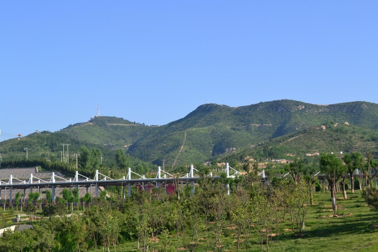 阳泉北站[盂县]成为一到亮丽的风景线