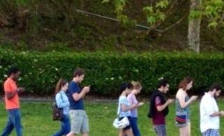 智能手机时代的郊游