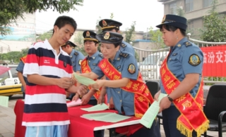 [原创]汾西县交通运输执法局开展执法宣传活动