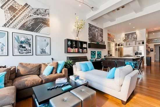 假期气氛客厅装饰3种软装方案轻松打造