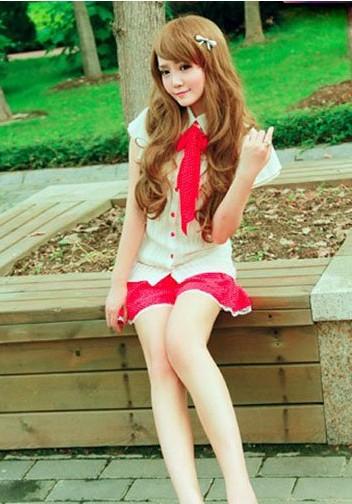 [原创]日系小萝莉学院系服饰 甜美可爱超萌女生