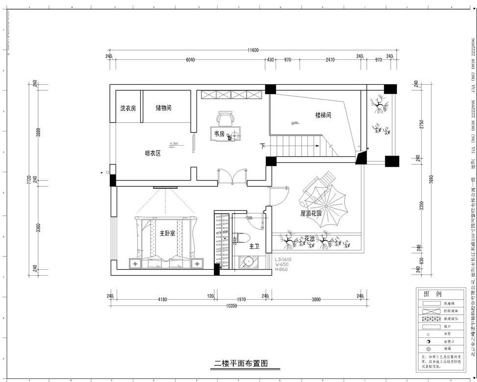 坐北朝南的复式房子设计图展示