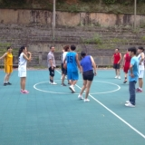 从江在线会员线下活动之篮球赛