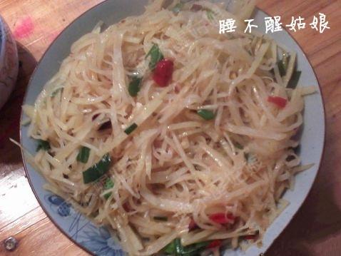 [原创]【家常菜,酸辣土豆丝】