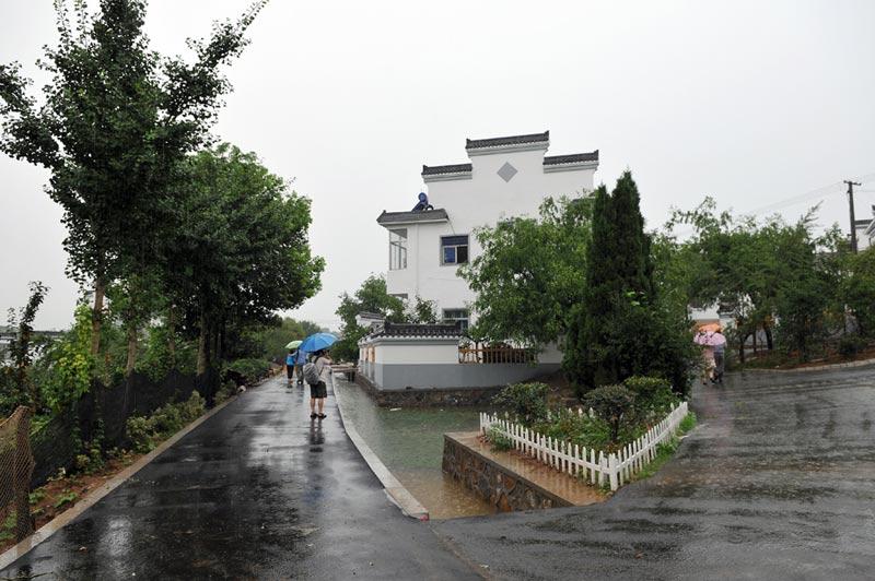 朱元晨 刘浏 摄         南报网讯  在溧水傅家边景区的深处,有一个被
