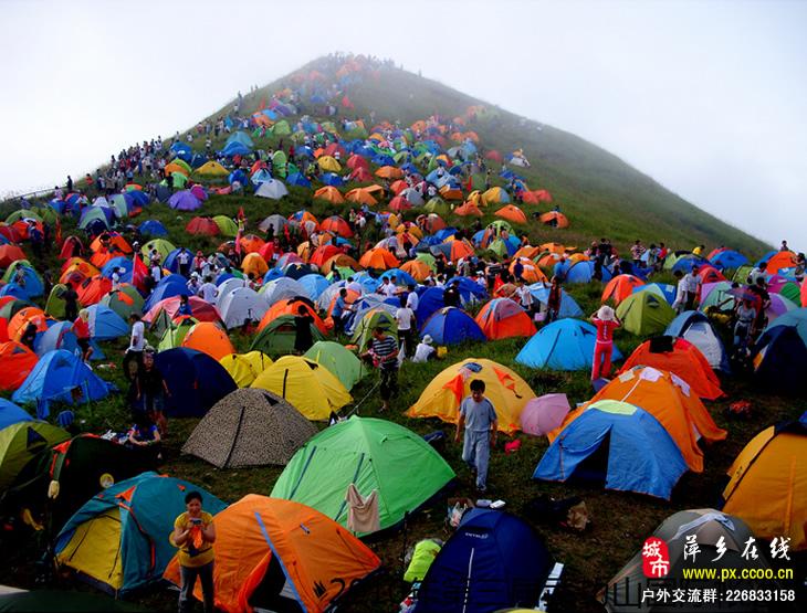 中国萍乡武功山国际帐篷节 历届美图集锦(2)