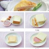 【火腿西多士】十分钟快手早餐简单做