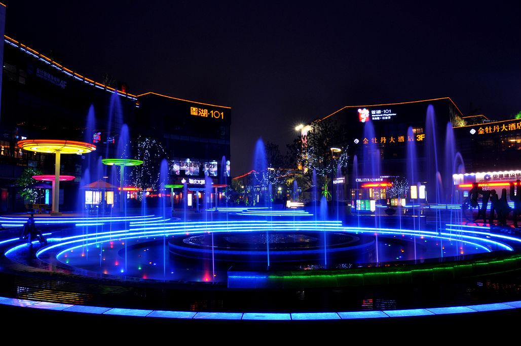 星湖101广场————情景不错