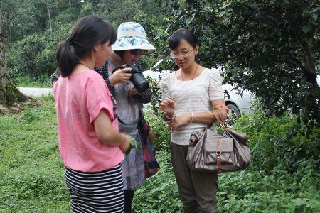《广州日报》记者到澜沧县采风
