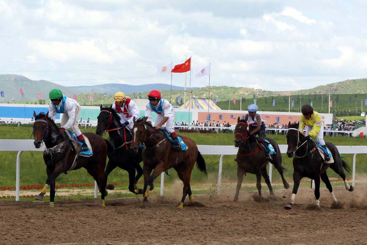 2008年7月18日上午,由中国马术协会主办,内蒙古