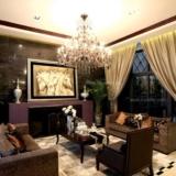 【软装设计】客厅窗帘效果图,客厅窗帘图片-客厅窗帘颜色的选择