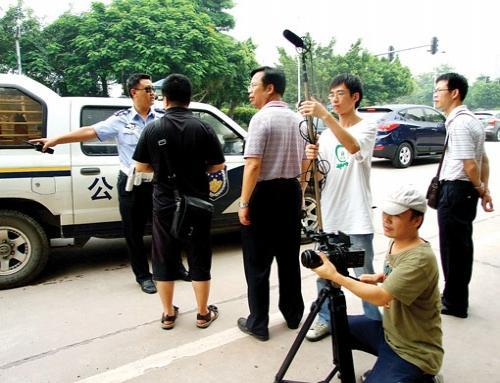 """惠州交警拍微电影《""""爸爸""""的吻》"""
