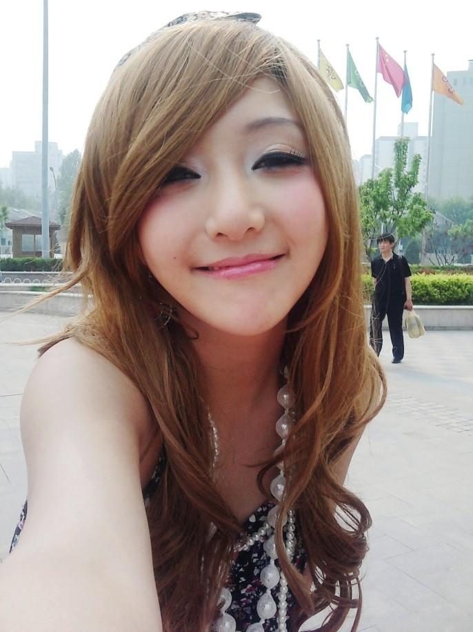[转贴]娃娃脸的美眉甜美造型