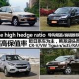 五年还能卖高价 四款高保值率热门SUV推荐