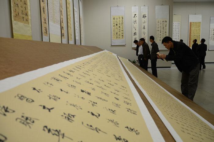 王辉农书法作品展在省博物馆举行