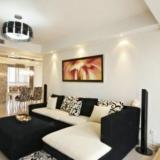 黑白简约风复式挑高小豪宅 尽显时尚与奢华
